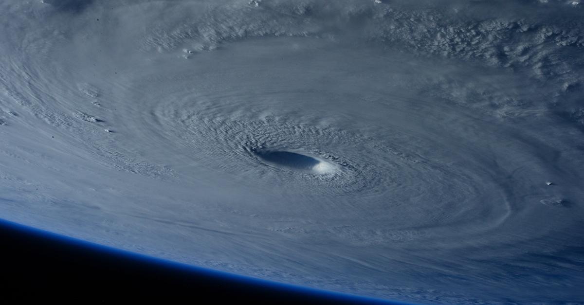 uragano foto nasa