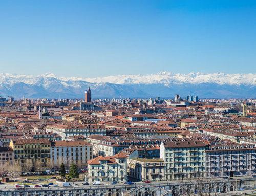 Altezze e proporzioni: quanto sono alti i palazzi di Torino… in un foglio?