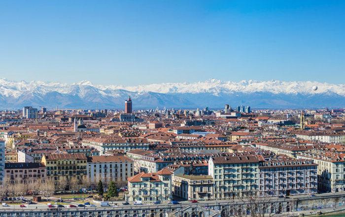 skyline palazzi Torino