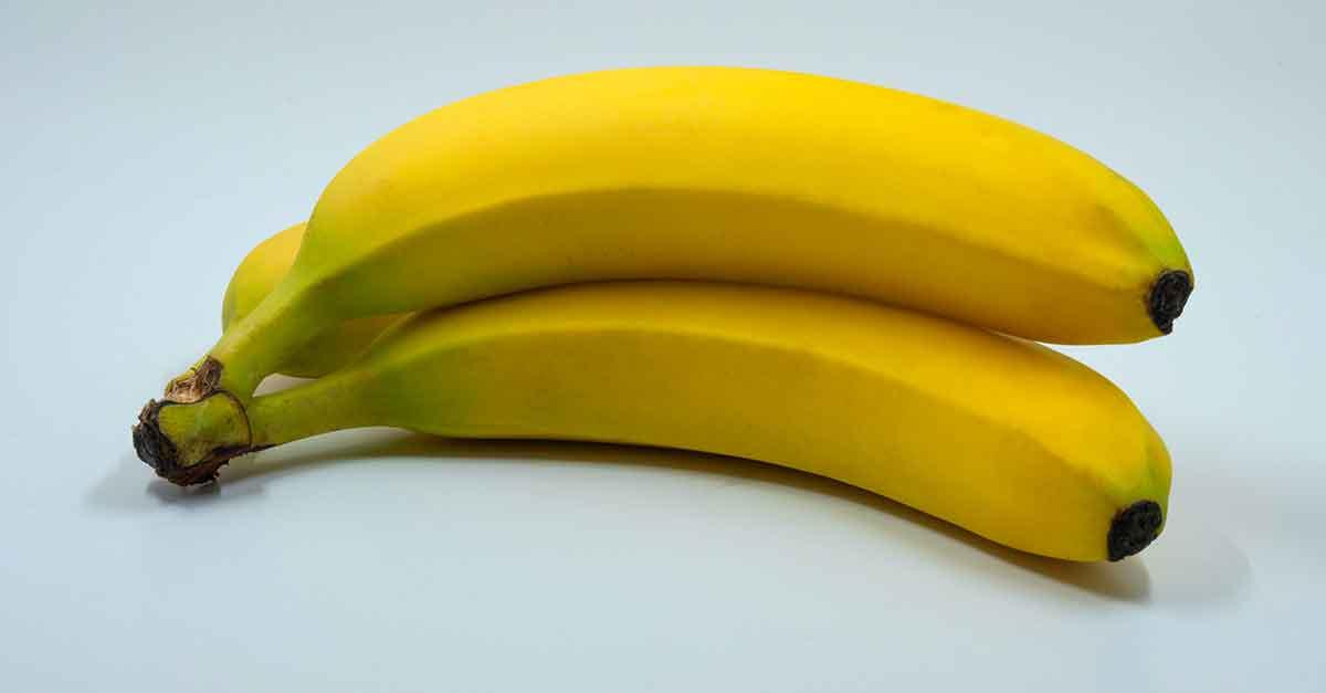 coppia di banane radioattive