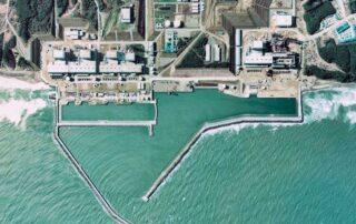 Centrale di Fukushima e Oceano Pacifico